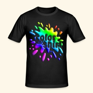 Color My Shirt - Slim Fit T-Shirt - Men's Slim Fit T-Shirt