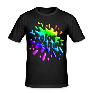Color My Shirt - Slim Fit T-Shirt - Männer Slim Fit T-Shirt