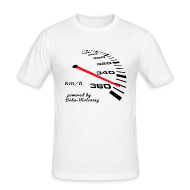 T-Shirts ~ Männer Slim Fit T-Shirt ~ Turbo Tacho Extrem Tuning by Boba-Motoring
