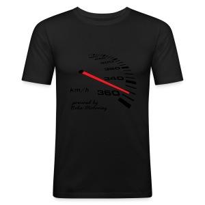 Turbo Tacho Extrem Tuning by Boba-Motoring - Männer Slim Fit T-Shirt