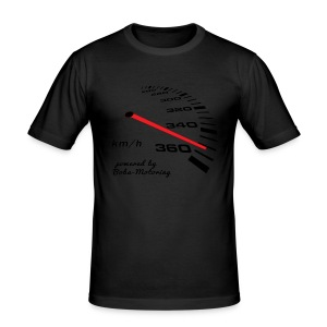 Turbo Tacho Extrem Tuning by Boba-Motoring - Männer Slim Fit T-Shirt