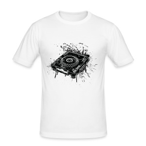CDJ 1000 Graffiti - Slim Fit Shirt - Men's Slim Fit T-Shirt