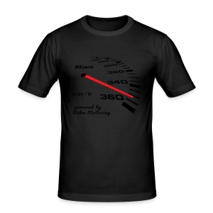16Vampir Turbo Tacho Extrem Tuning by Boba-Motoring - Männer Slim Fit T-Shirt