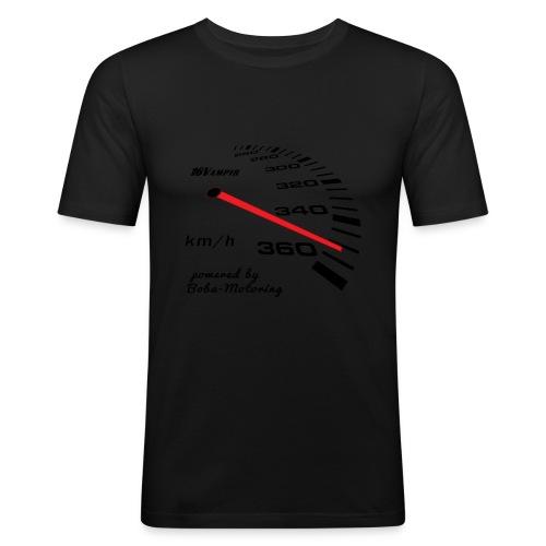 16Vampir Turbo Tacho Extrem Tuning by Boba-Motoring - Männer Slim Fit T-Shirt