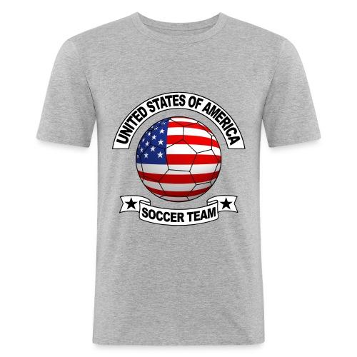 US Soccer Team - Men's Slim Fit T-Shirt
