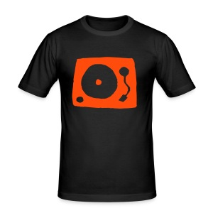 Turntable 5 - Slim Fit T-Shirt - Männer Slim Fit T-Shirt