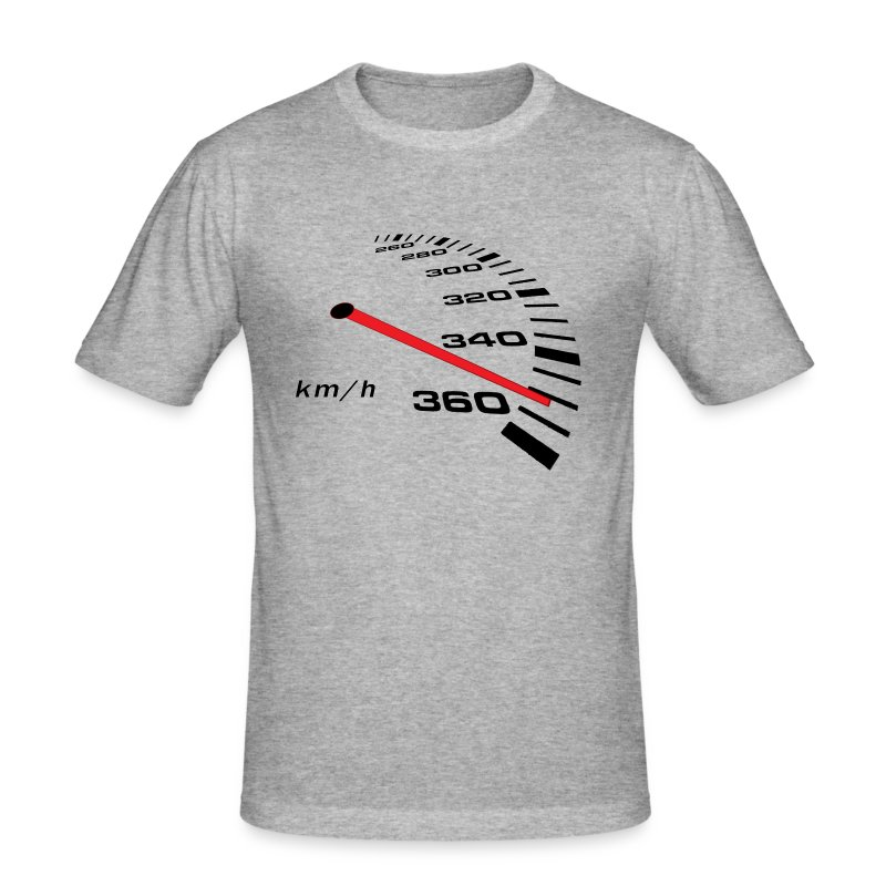 Turbo Tacho Extrem Tuning - Männer Slim Fit T-Shirt