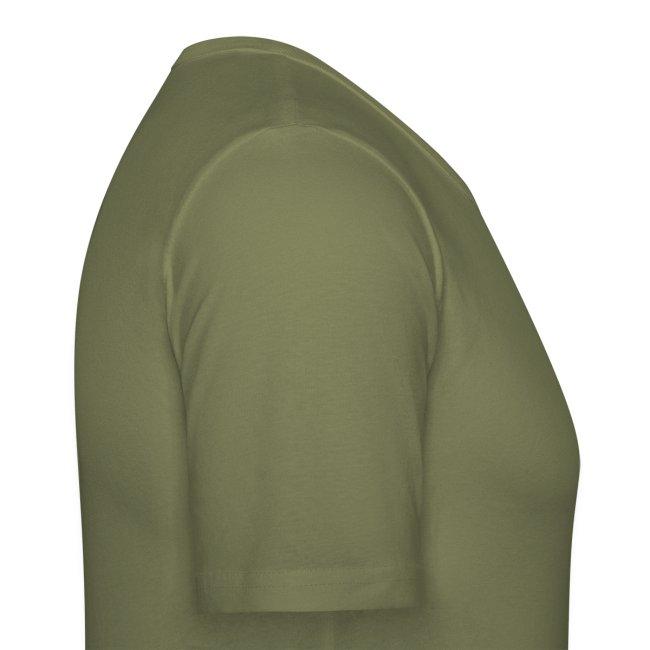 Dwerguil - Mannen Slim Fit T-shirt