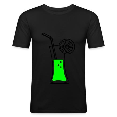 Drink  - Männer Slim Fit T-Shirt
