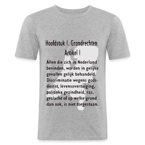 Grondwet - slim fit T-shirt