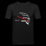 T-Shirts ~ Männer Slim Fit T-Shirt ~ Turbo Tacho Extrem Tuning