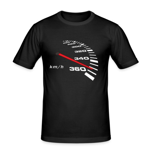 Turbo Tacho Extrem Tuning - Männer Slim Fit T-Shirt