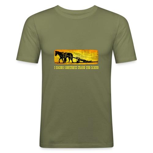 I fagioli comunque... (Trinità) - Bud & Terence Style Collection - Maglietta aderente da uomo