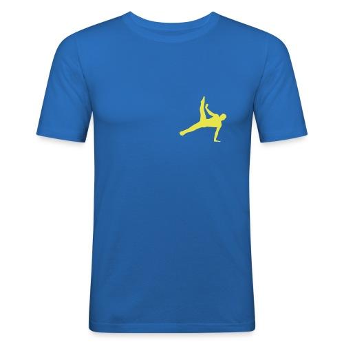Gymnastik - Slim Fit T-shirt herr