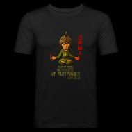 T-Shirts ~ Men's Slim Fit T-Shirt ~ Mr. Fastfnger good slim men
