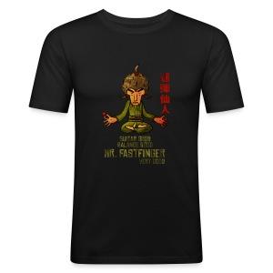 Mr. Fastfnger good slim men - Men's Slim Fit T-Shirt