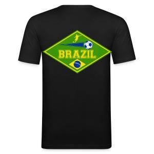 Brazil sport 02 - Men's Slim Fit T-Shirt
