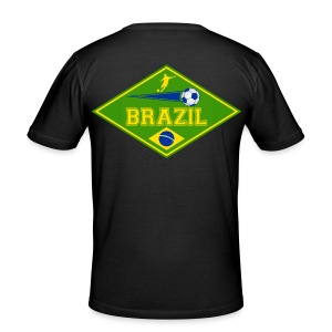 Brazil sport 02 - Men's Slim Fit T-Shirt