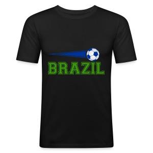Brazil sport 01 - Men's Slim Fit T-Shirt