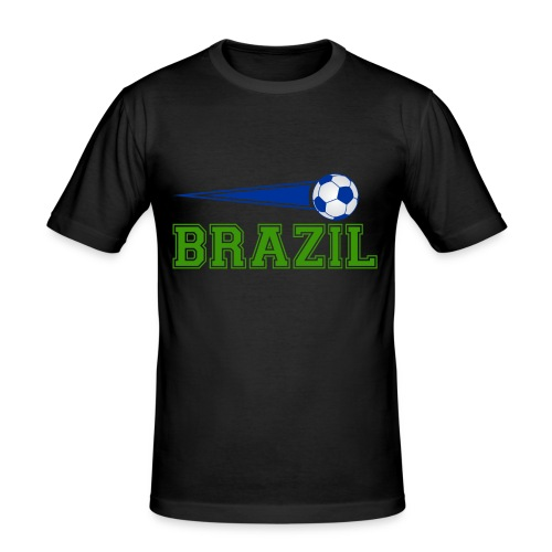 Brazil sport 01 - Men's Slim Fit T-Shirt