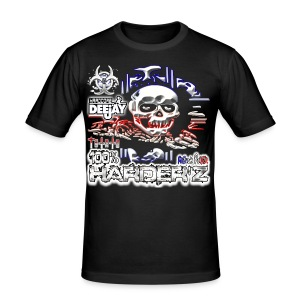 TEE SHIRT MOULANT HARDER'Z FRENCH POWER - Tee shirt près du corps Homme