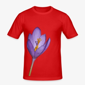 Crocus mauve - Men's Slim Fit T-Shirt
