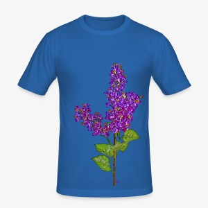 Lilas - Men's Slim Fit T-Shirt