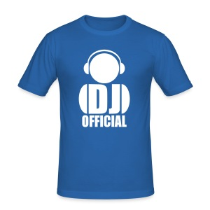 DJ Official Logo - Slim Fit Shirt - Men's Slim Fit T-Shirt