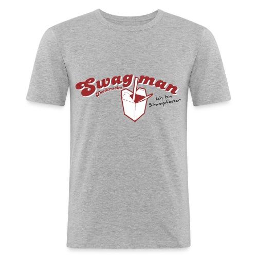 Ich bin Stampfesser Herren Slim Fit T-Shirt - Männer Slim Fit T-Shirt