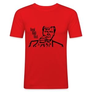 Willem Alexander veni vidi vici - slim fit T-shirt
