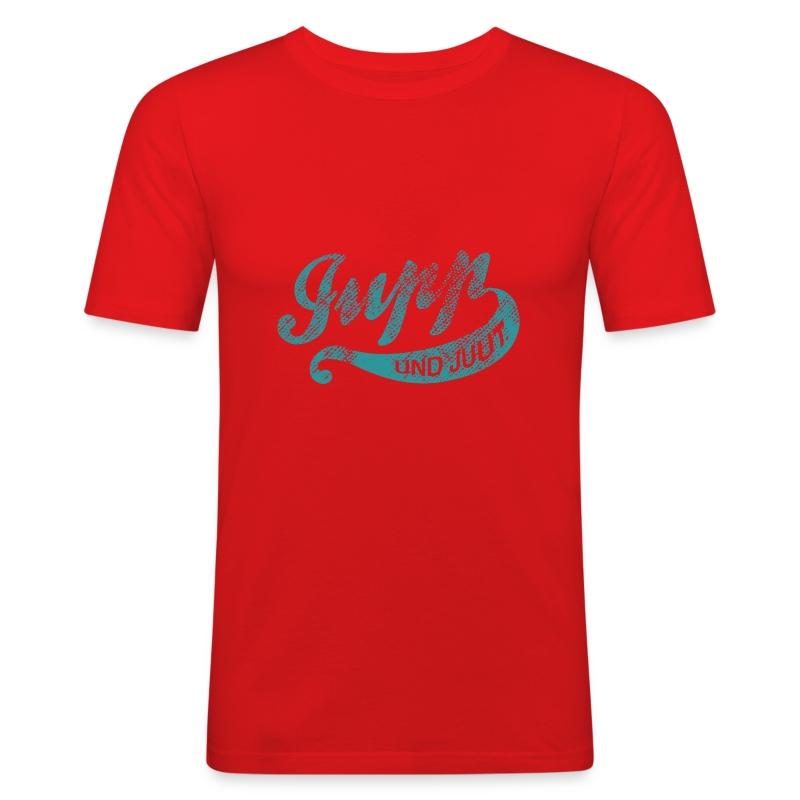 Jupp und Juut. - Männer Slim Fit T-Shirt