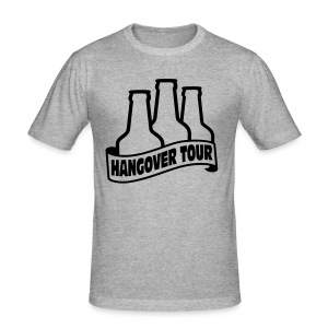 Stag night t shirt Hangover Tour - Men's Slim Fit T-Shirt