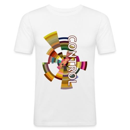 C.O.N.T.R.O.L. - Maglietta aderente da uomo