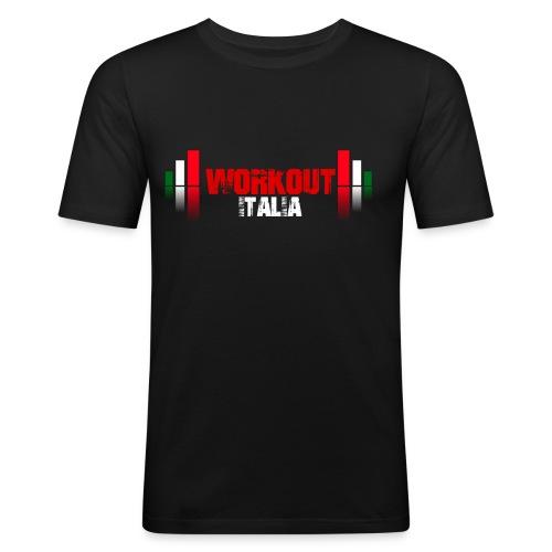 Tshirt Logo LUX - Maglietta aderente da uomo