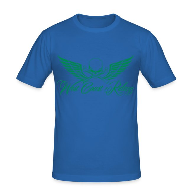 T-shirt homme skull vert