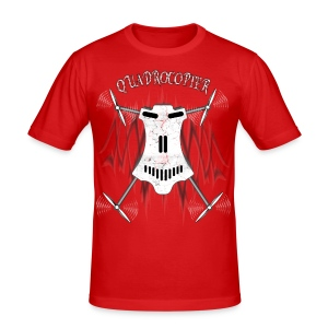 Quadrocopter / Multicopter T-shirt - Männer Slim Fit T-Shirt