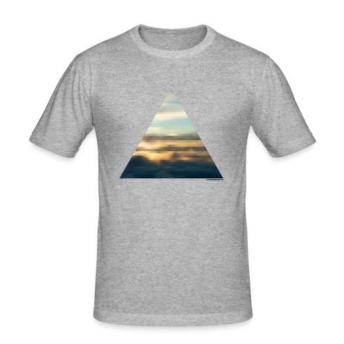 Denmark 58 Grey T-Shirt Homme - T-shirt près du corps Homme