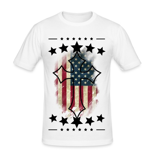 U.S STAR! - Männer Slim Fit T-Shirt
