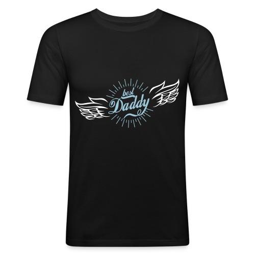 Best Daddy - Männer Slim Fit T-Shirt