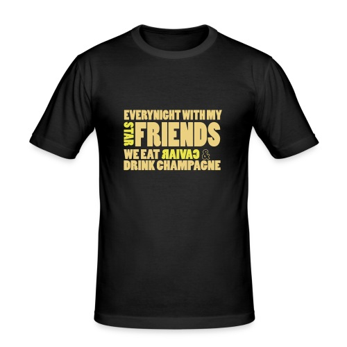 star_friends - Tee shirt près du corps Homme