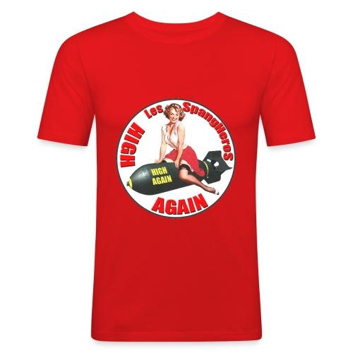 Tee shirt Les Spangheros High Again - T-shirt près du corps Homme