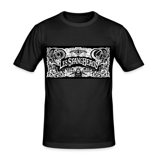 Tee shirt Les Spangheros Ouija - T-shirt près du corps Homme