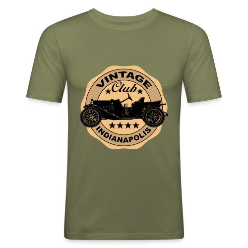 Vintage car 03 - Men's Slim Fit T-Shirt