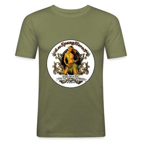 Tee shirt Les Spangheros Roots - T-shirt près du corps Homme