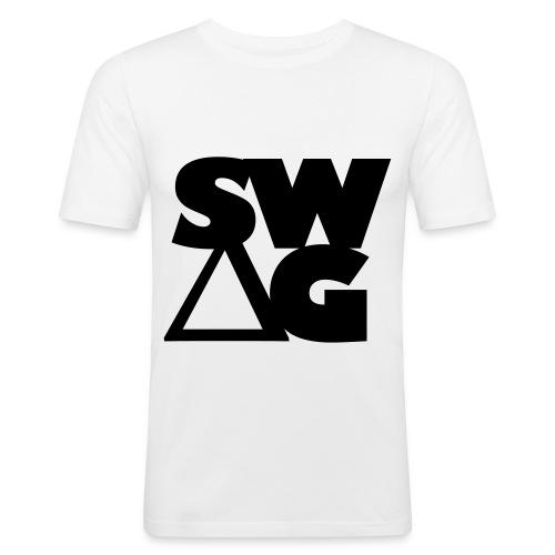Kichau ''SW?G'' Men - Men's Slim Fit T-Shirt