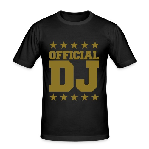 Official DJ Black Yellow - Camiseta ajustada hombre