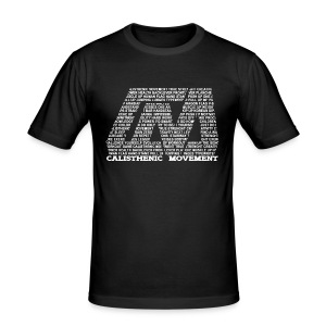 Männer Slim Fit T-Shirt - CM Logo bestehend aus Text