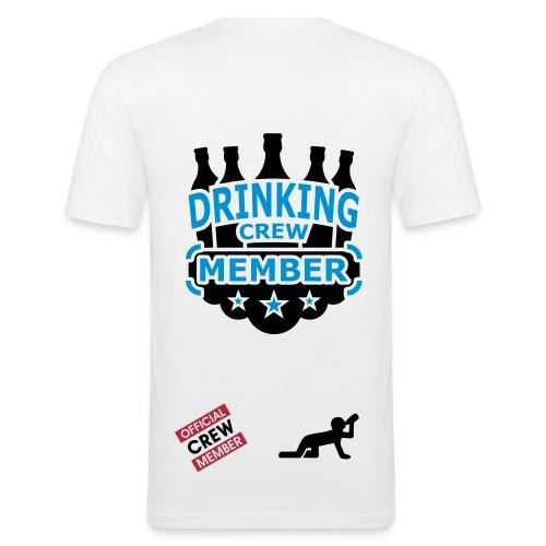 Drinking Crew - Herre Slim Fit T-Shirt