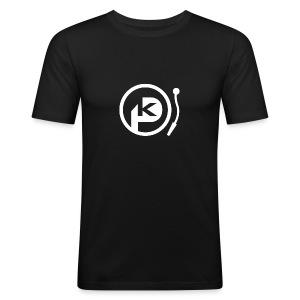 P-KAY T-Shirt Männer - Männer Slim Fit T-Shirt