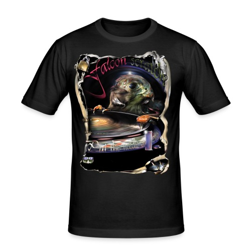 Falcon scratch - slim fit T-shirt